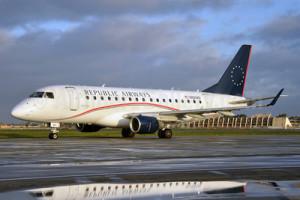 Republic Airways обратилась в суд за защитой от кредиторов