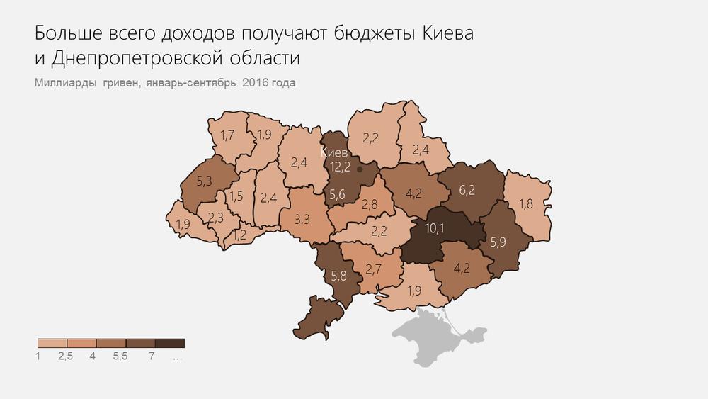 карта укр - рус