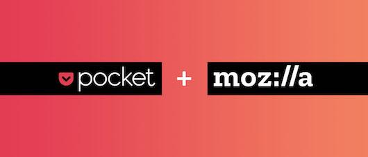 Mozilla поглотила сервис Pocket