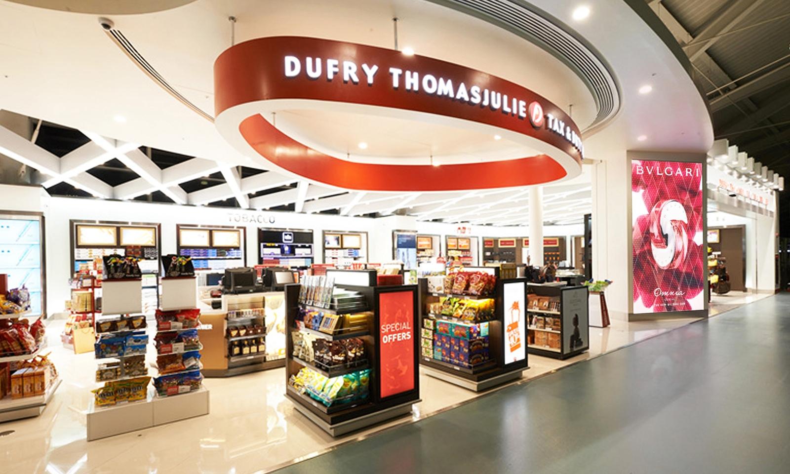 HNA Group купує акції швейцарської мережі магазинів Dufry AG