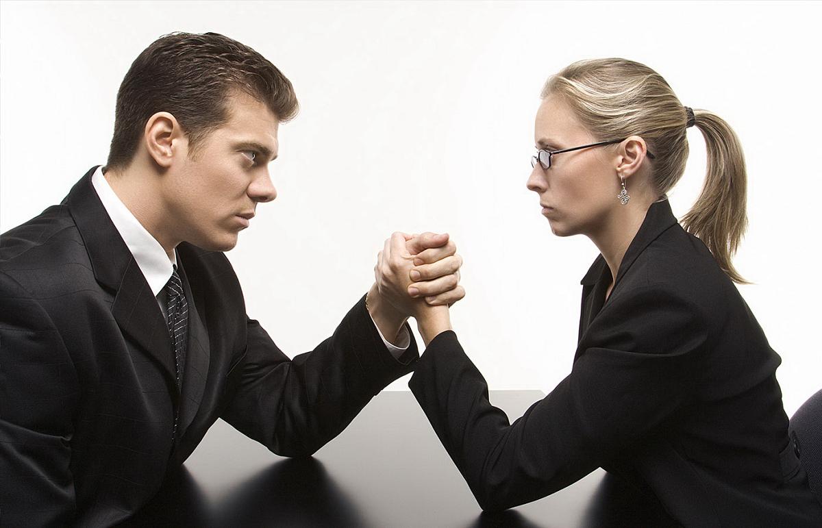 Женщина-босс VS мужчина-начальник