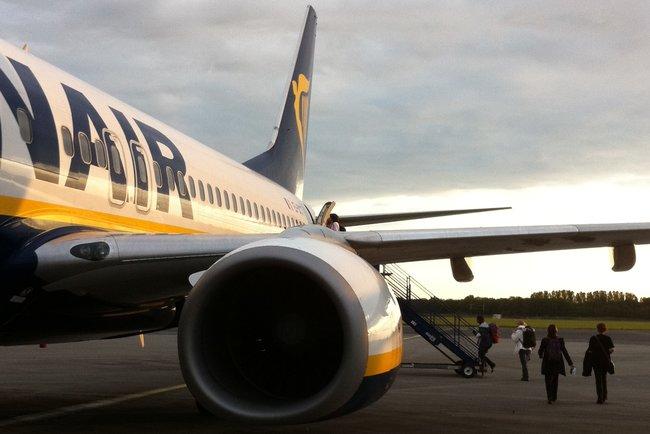 У Франції конфіскували літак Ryanair