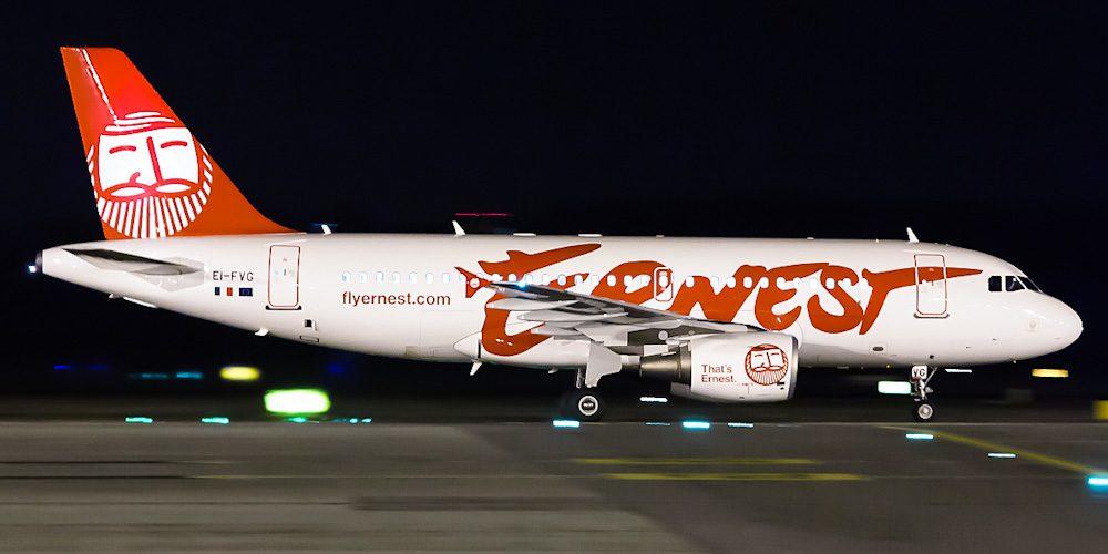 Ernest Airlines открывает регулярные авиарейсы из Харькова в Рим и Милан