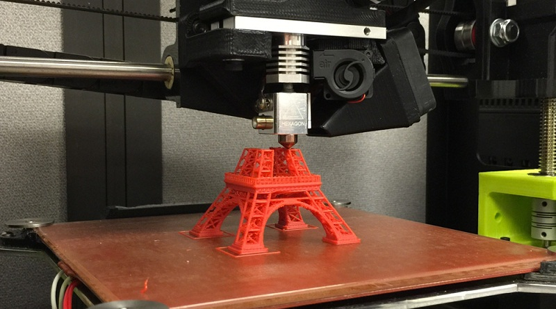 Український 3D-принтер експонуватимуть закордоном