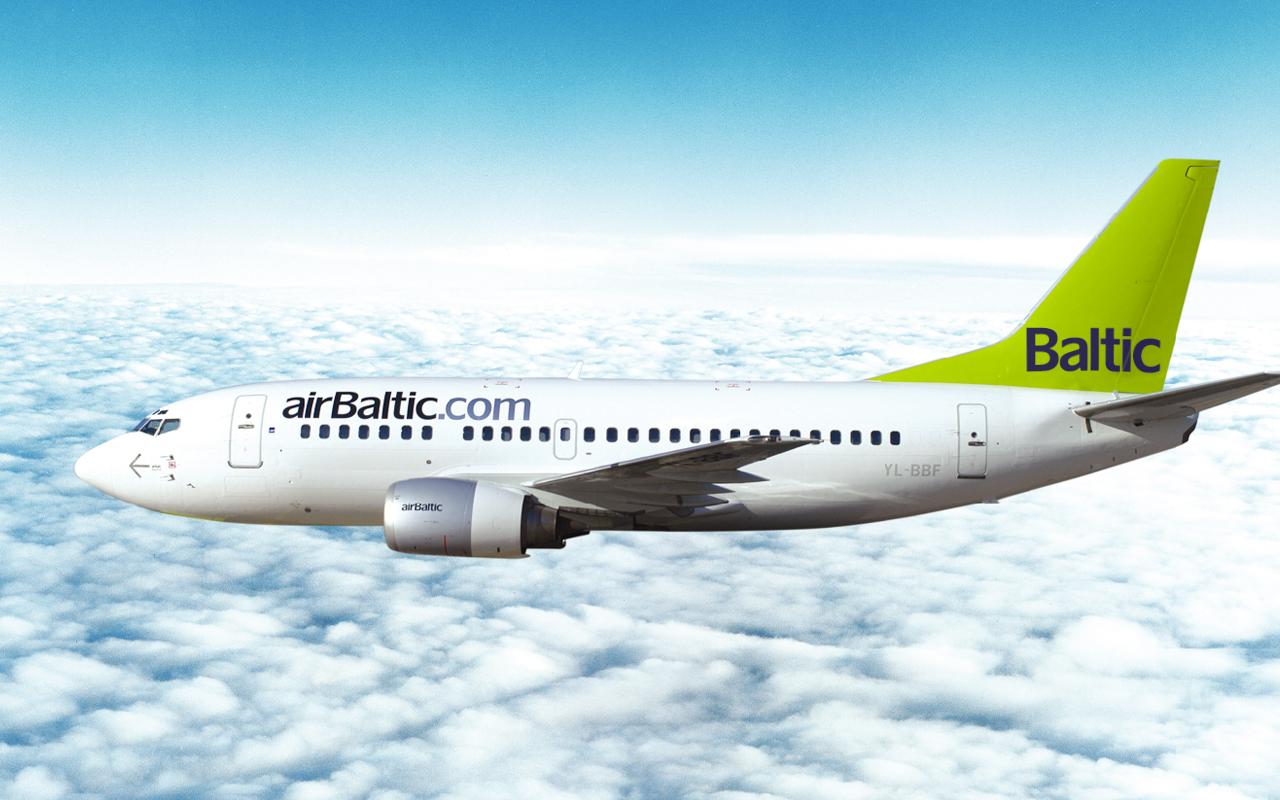 Компанія airBaltic вдвічі збільшить кількість місць на рейси Київ-Рига