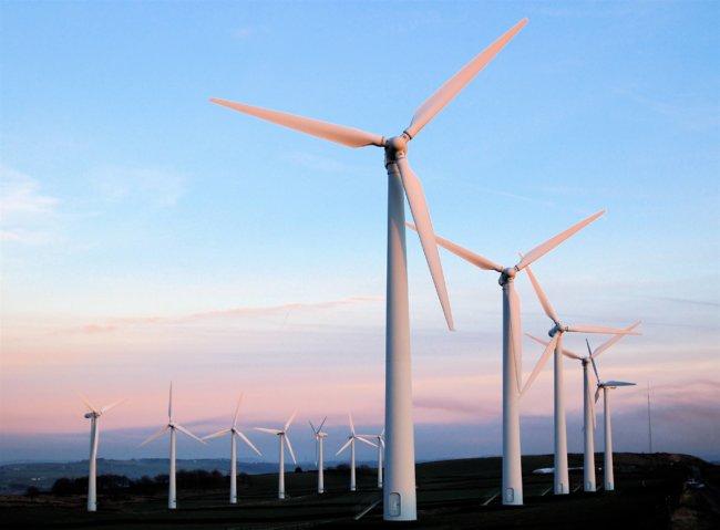 Вторая по величине в Украине ветряная электростанция на завершающем этапе строительства