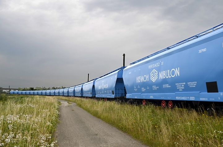 НІБУЛОН почав перевезення зерна новими вагонами