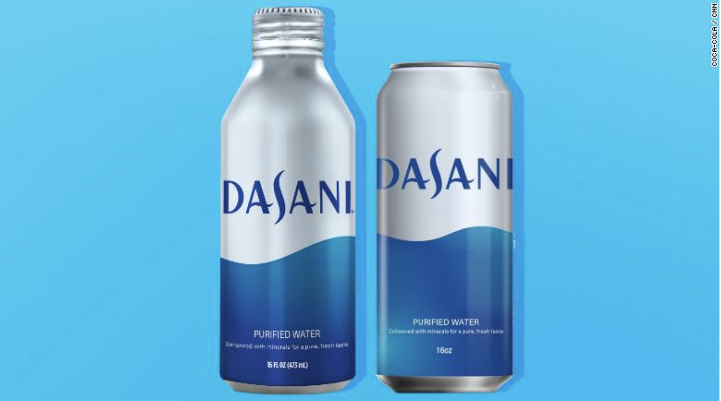 Coca-Cola приняла решение сделать ребрендинг Dasani