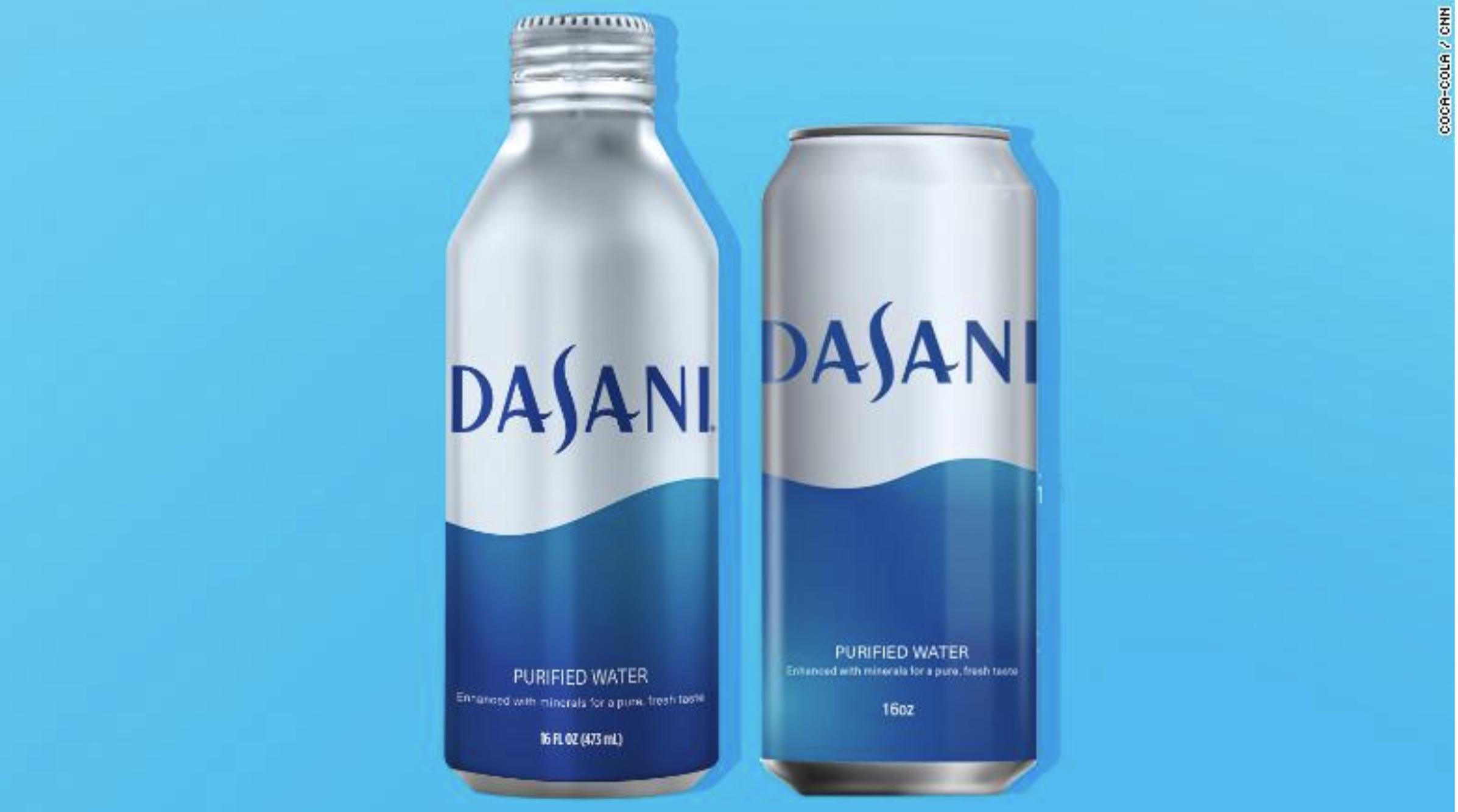 Coca-Cola вирішила зробити ребрендинг Dasani