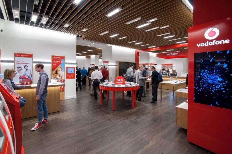 Vodafone Retail має намір збільшити кількість магазинів до 300