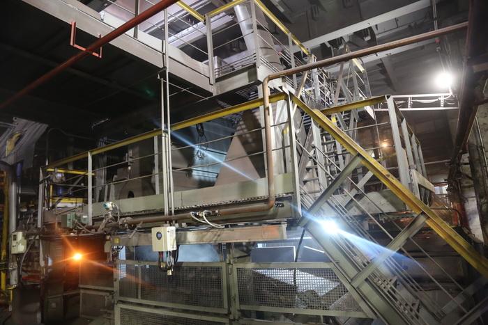 «АрселорМіттал Кривий Ріг» реконструював половину агломашин другої аглофабрики