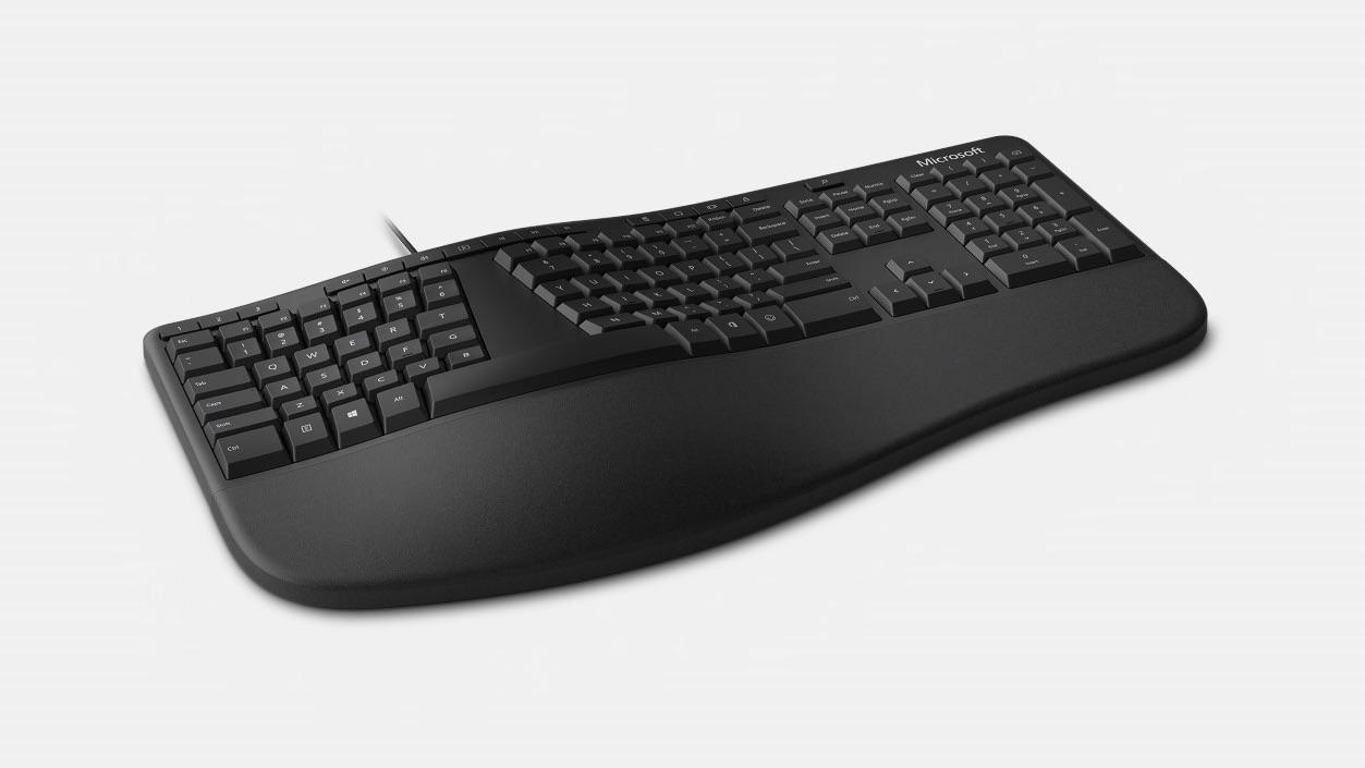Microsoft презентовала «кривую» клавиатуру