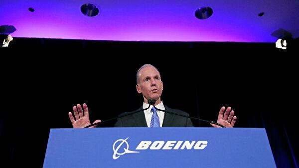 Генеральный директор Boeing подал в отставку