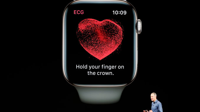 Apple и Johnson & Johnson проведут масштабное трехлетнее исследование по выявлению болезни сердца