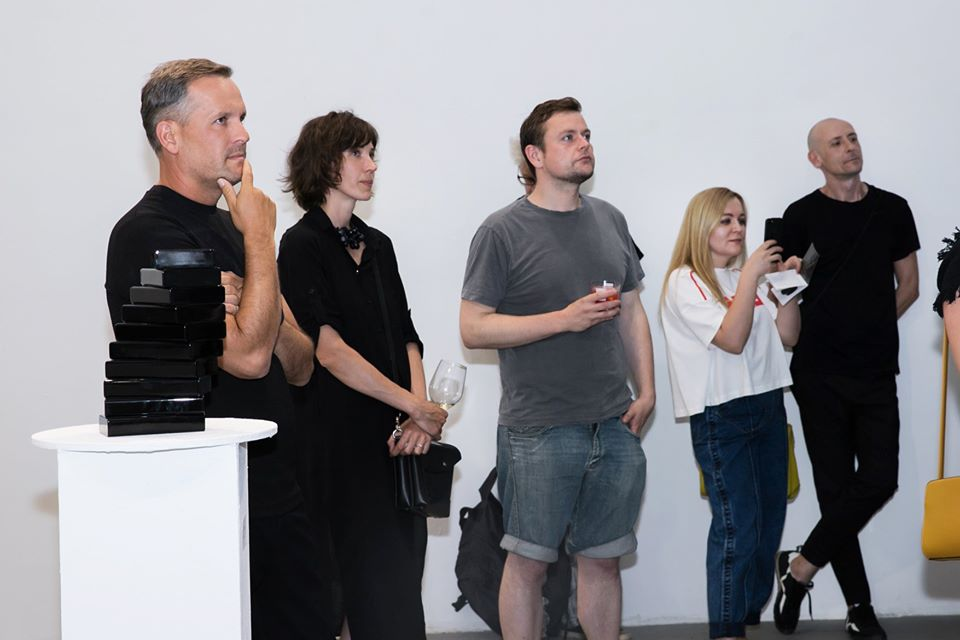 The NON-OBJECTIVE OBJECTS exhibition opening by Yaroslav Derkach