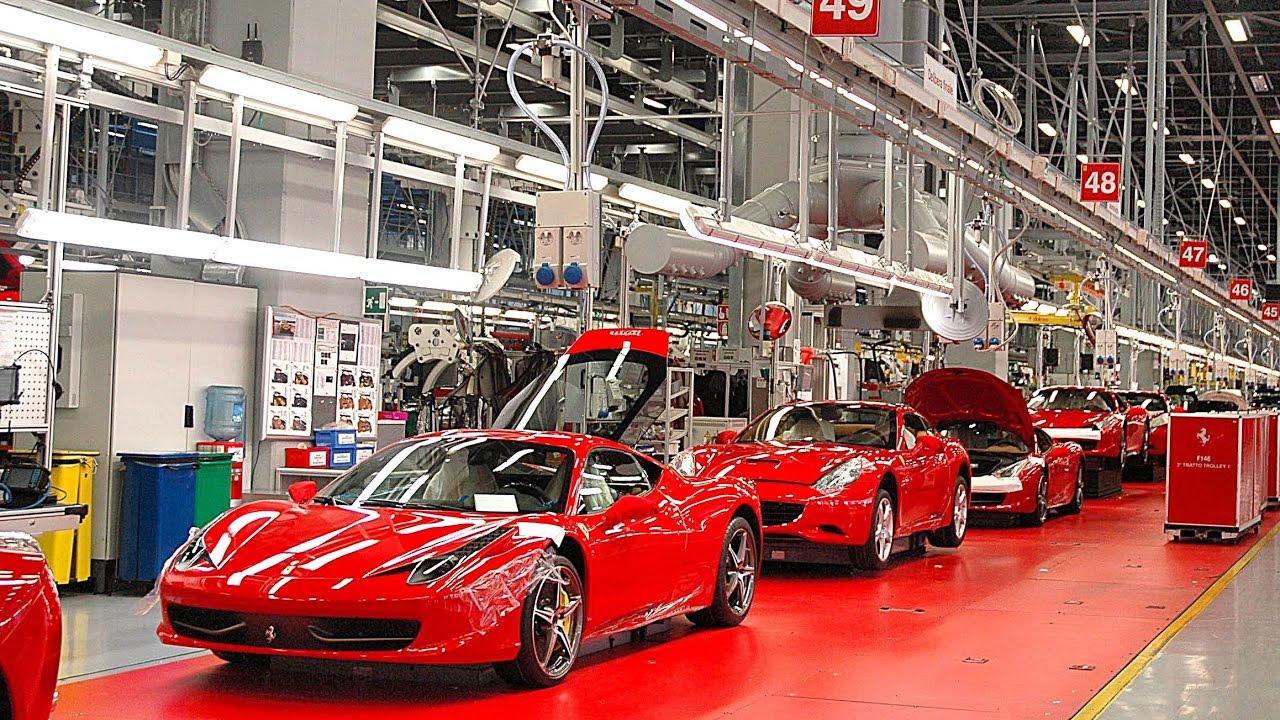 Ferrari остановила производство автомобилей