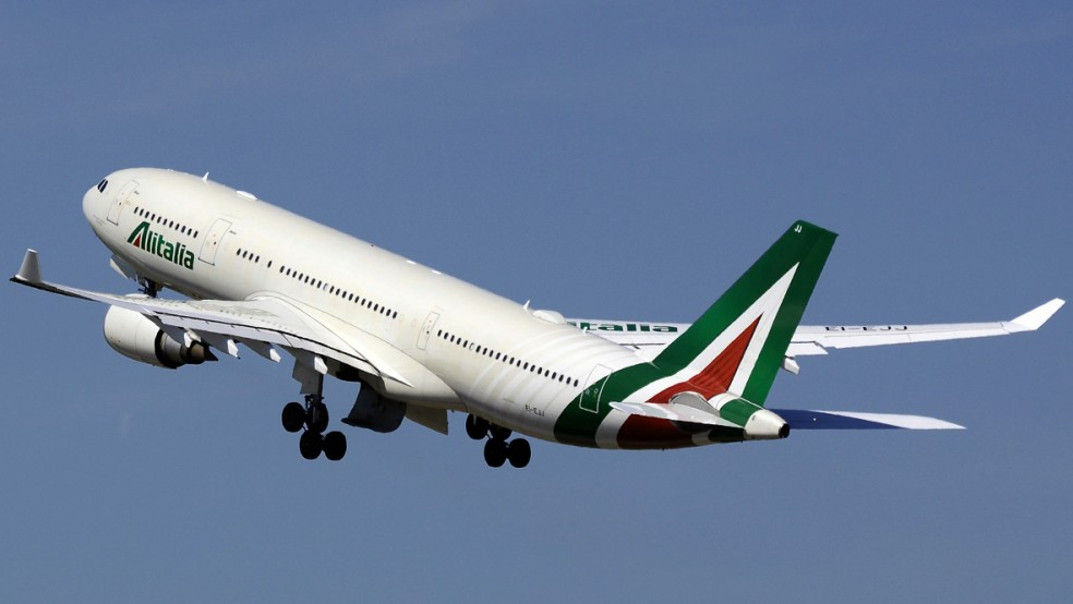 Alitalia открыла продажу билетов на спецрейс из Рима в Киев