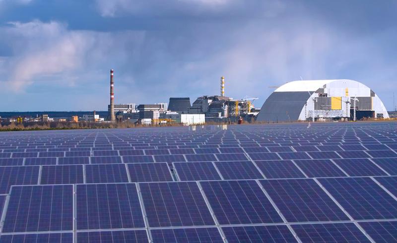 У Чорнобилі з'явиться сонячна електростанція