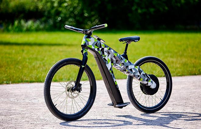 Skoda представила велосипед без педалей