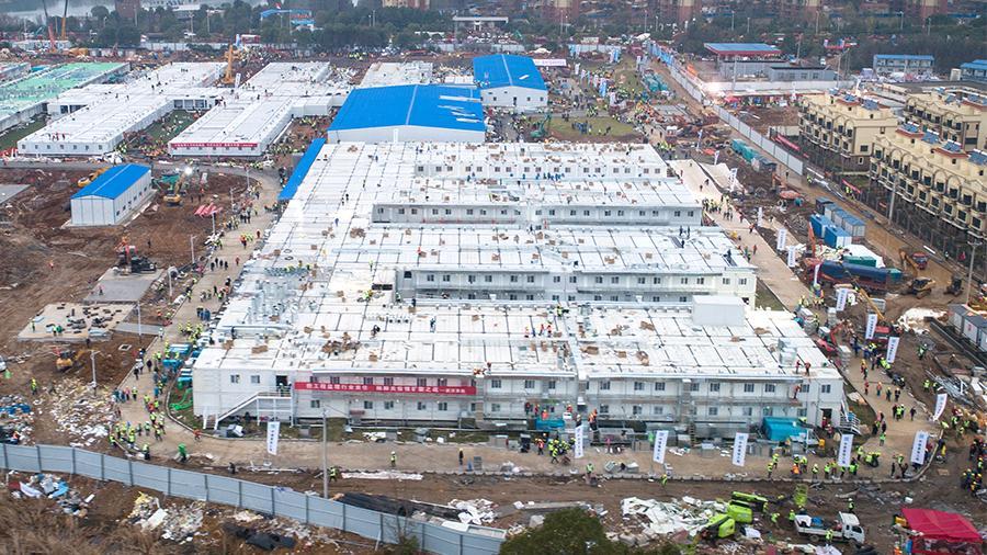 В Китае строят медицинскую базу на случай крупной эпидемии