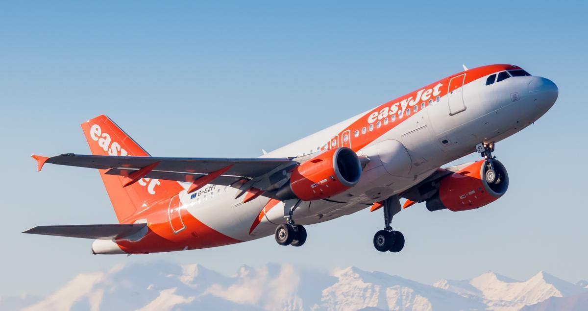 Британська авіакомпанія EasyJet скоротить до 30% штату