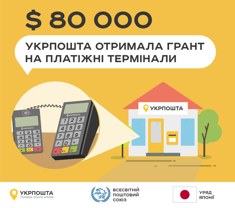 Укрпошта отримала грант уряду Японії у $80 тис для підвищення доступності фінансових послуг у віддалених населених пунктах