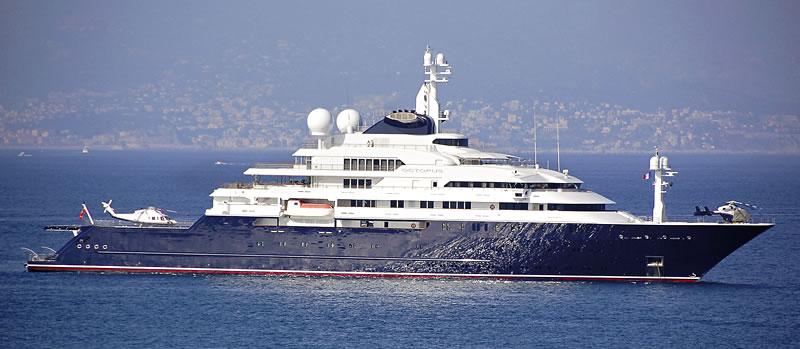 Невероятная яхта сооснователя Microsoft выставлена на продажу за €295 млн