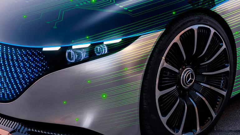 Новые автономные автомобили от Mercedes-Benz и NVIDIA с 2024 года будут получать беспроводные обновления ПО