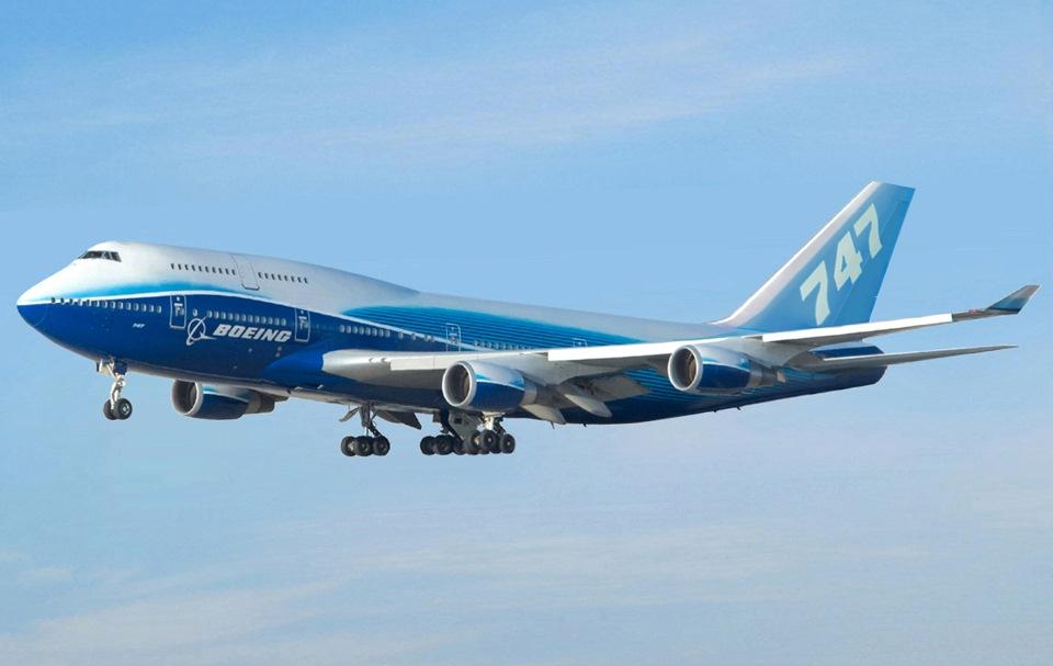 Boeing останавливает производство авиалайнера Boeing 747