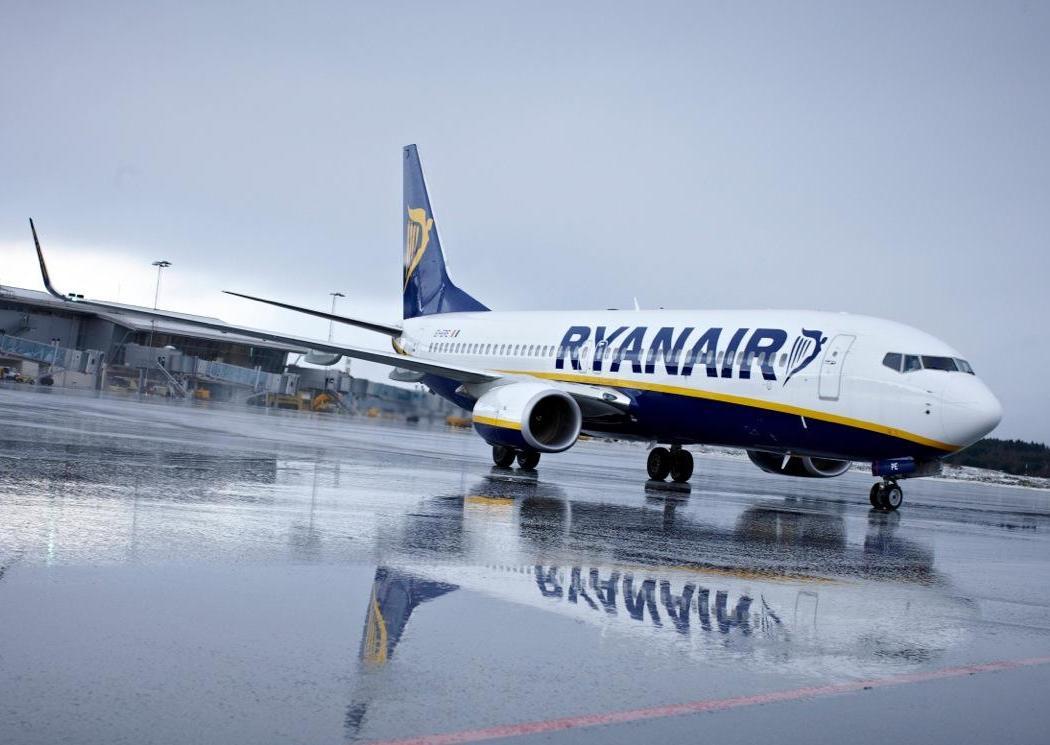 Выручка компании Ryanair упала на 95%