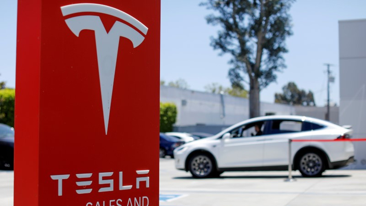 Tesla shares soared 8% on delivery news in the second quarter