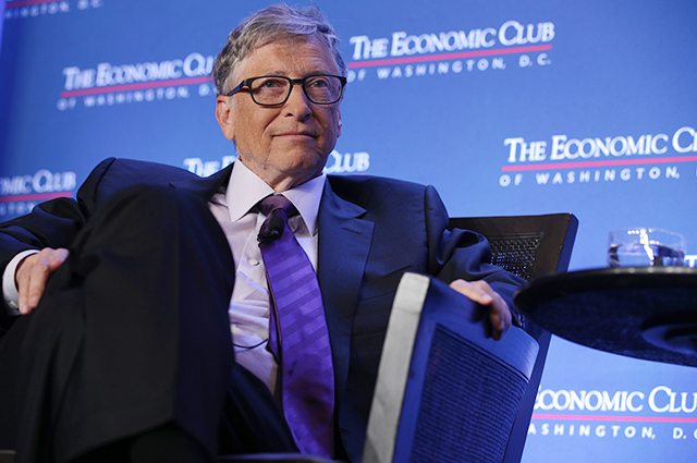 Bill Gates has invested nearly $ 80 million in the developer of satellite dishes