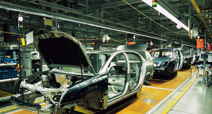In Ukraine, car production fell by 40%
