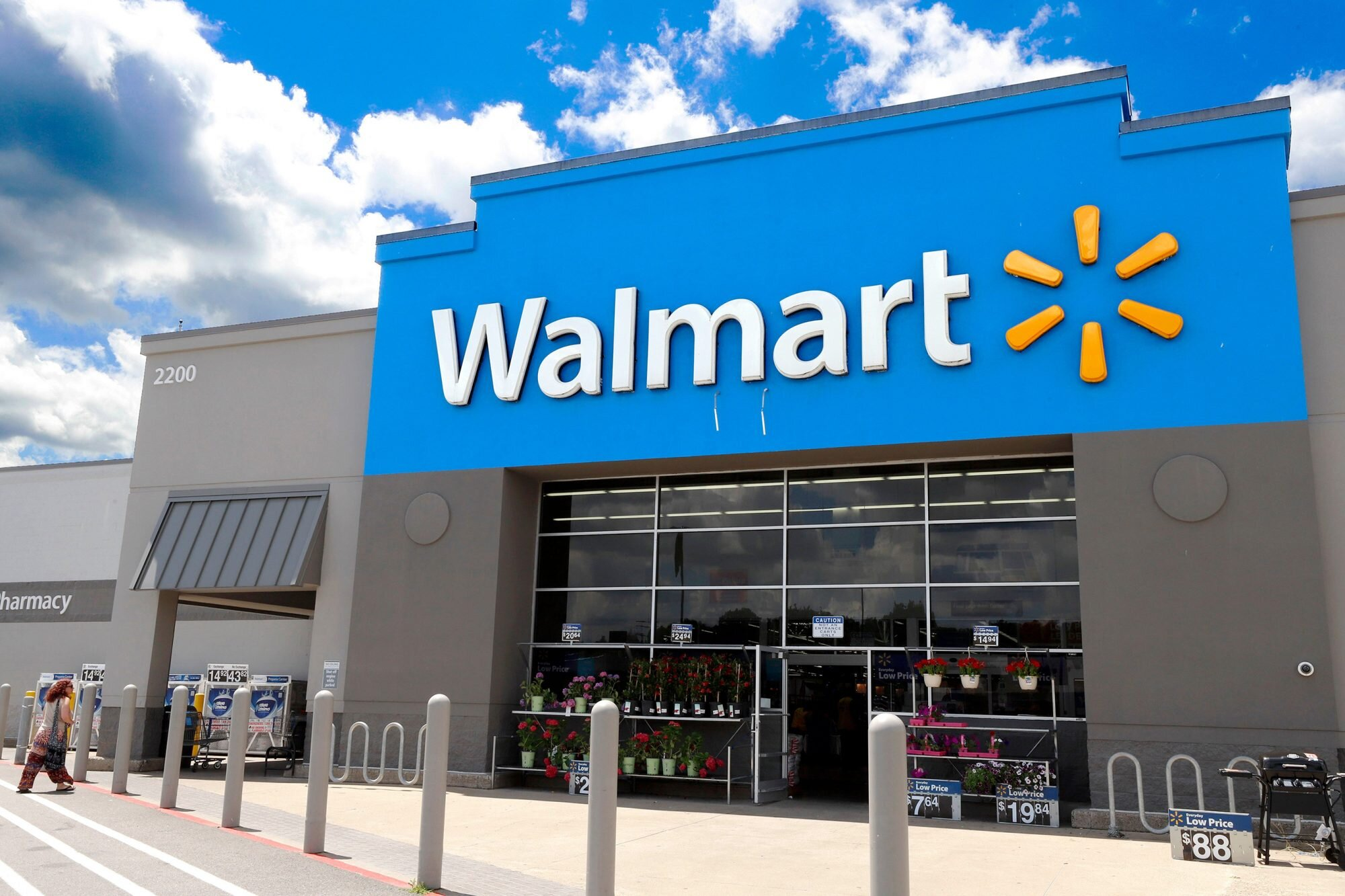 Walmart сообщил об удвоении онлайн-продаж