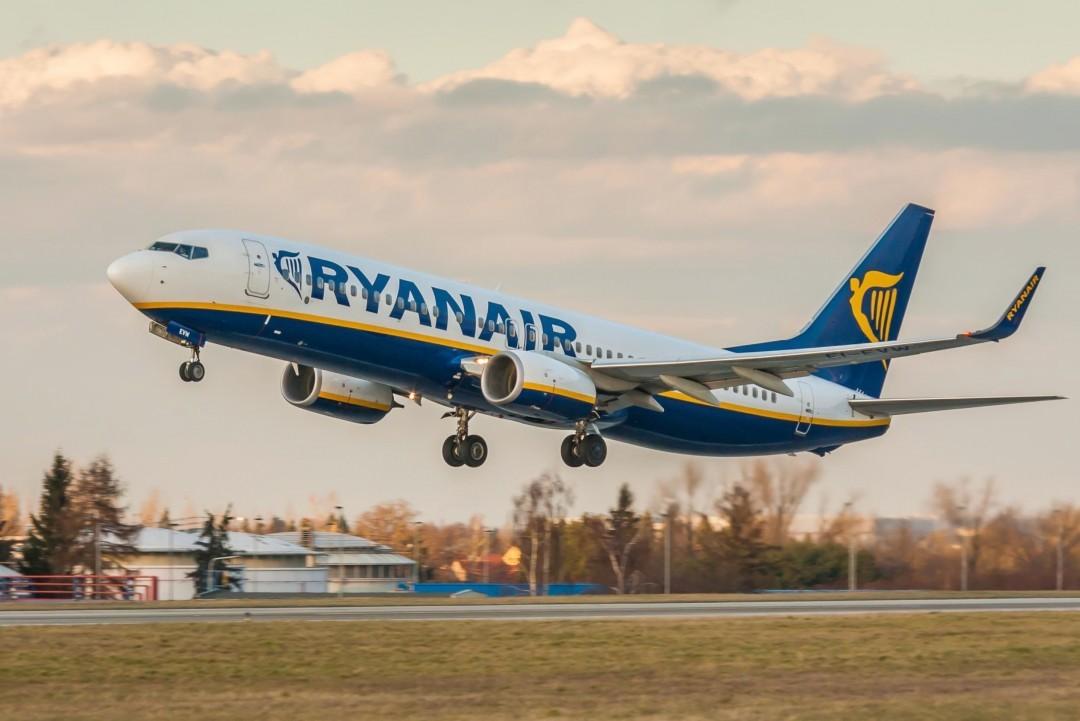 Ryanair сократит количество рейсов на 20%