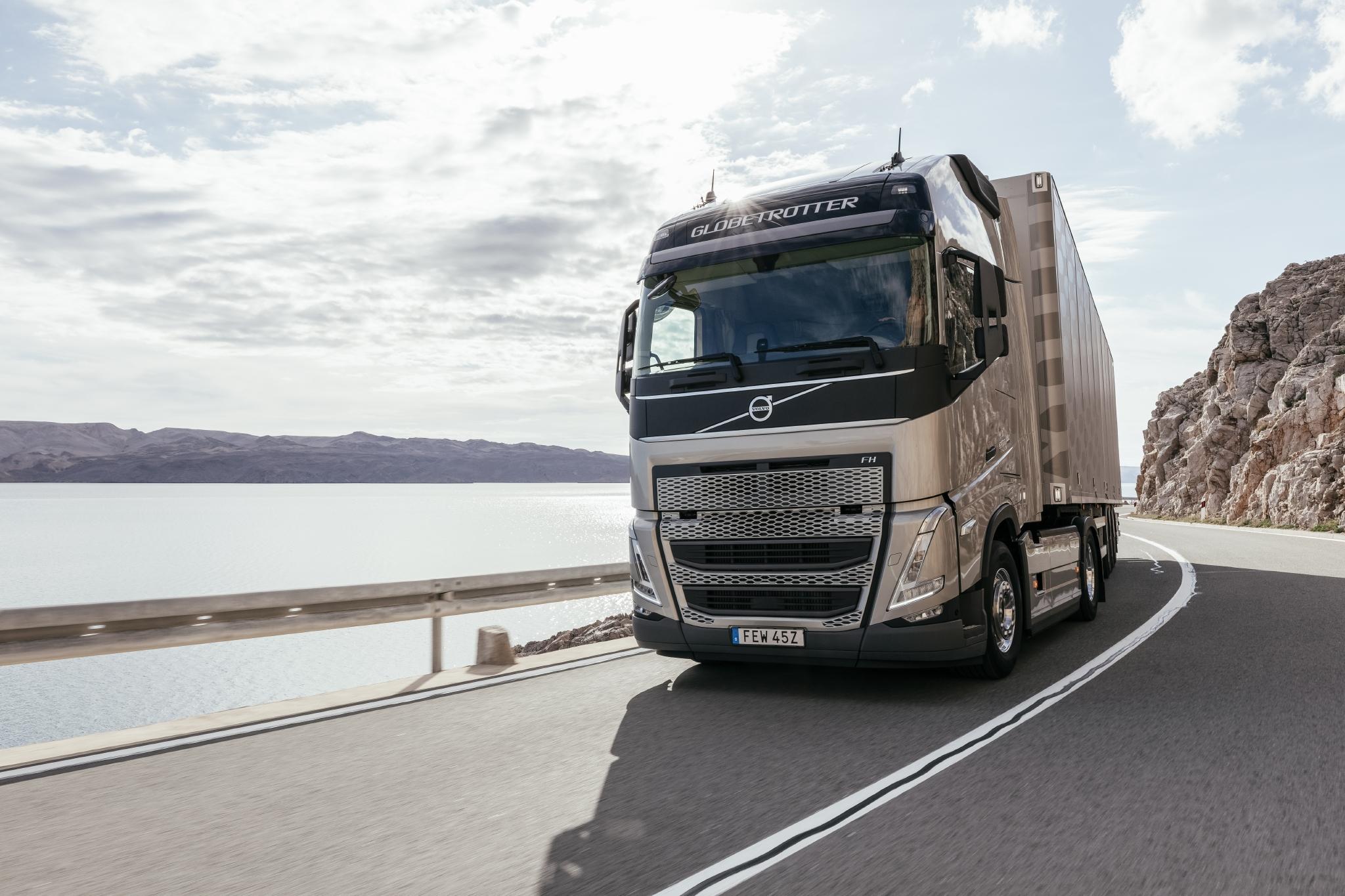 Volvo FH нового покоління з технологією I-Savе став лідером з економічності споживання пального