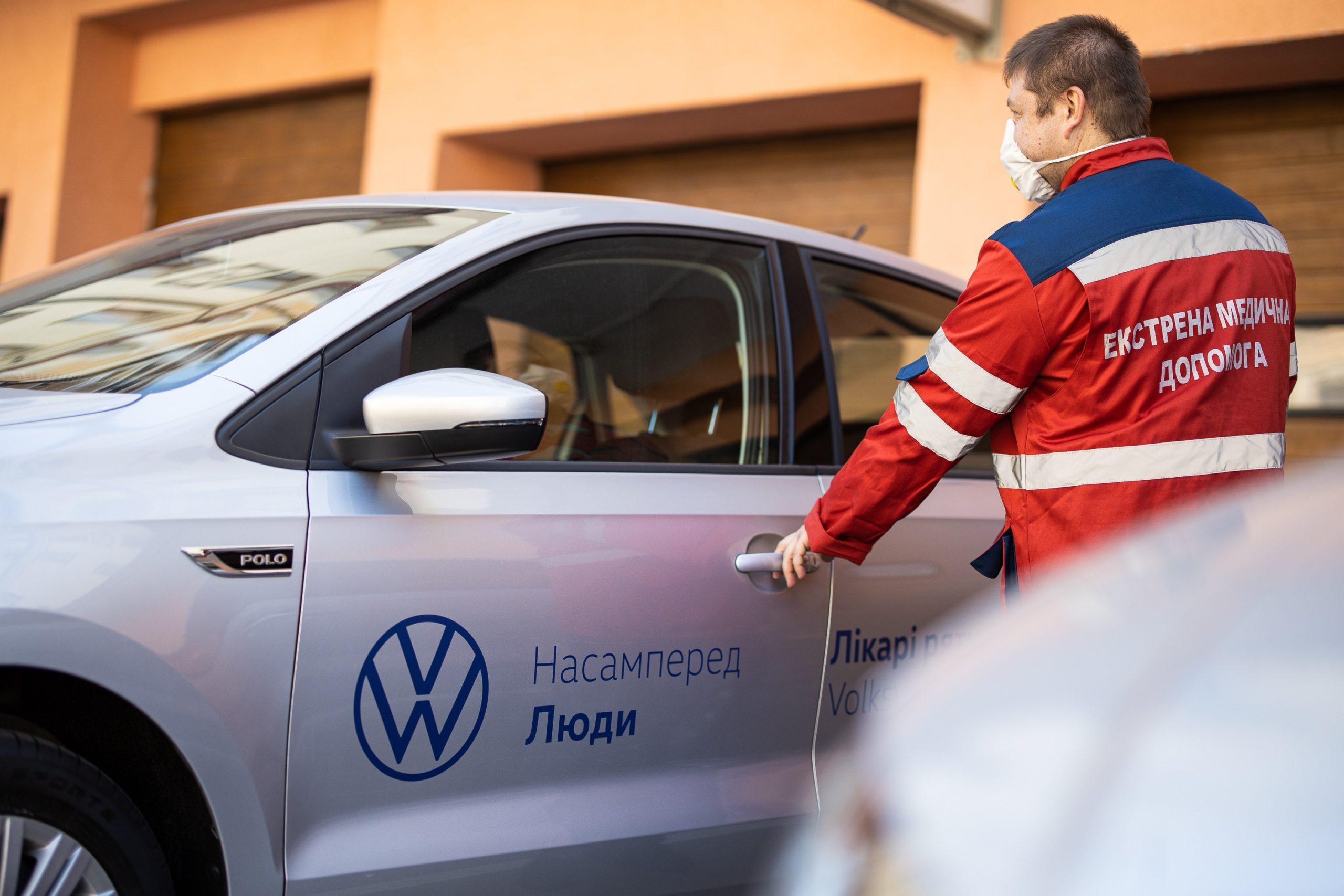 2500 перевезень та 140 днів допомоги: Порше Україна та Volkswagen продовжують підтримувати мед. працівників в період пандемії