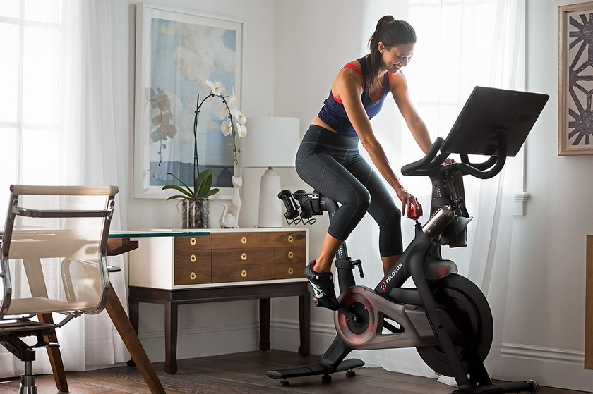 Peloton launches a new exercise bike and treadmill