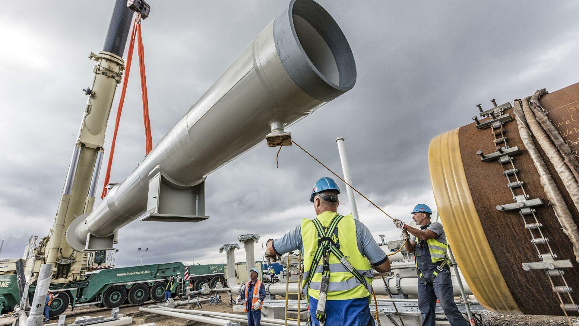 Под санкции США против «Северного потока — 2» попадут более 120 европейских компаний