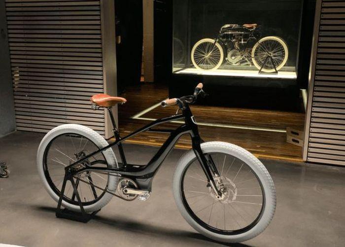 Компания Harley-Davidson представила электровелосипед