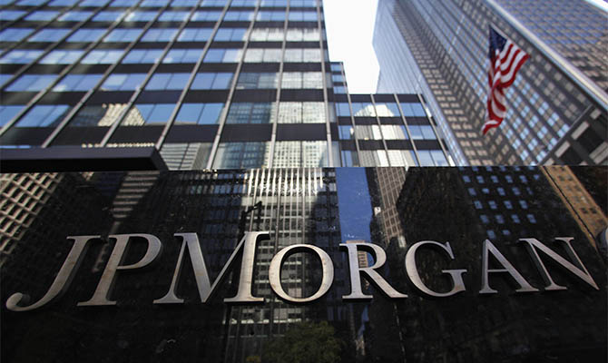 JP Morgan's net profit for the nine months fell by 39%