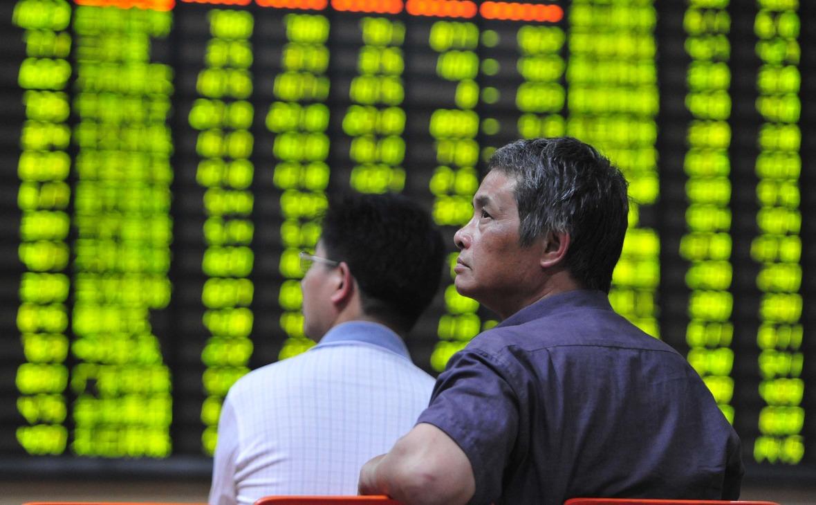 Капитализация рынка акций Китая достигла рекорда