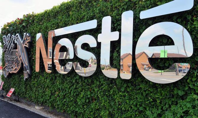 Продажі Nestle за 9 місяців знизилися на 9,4%