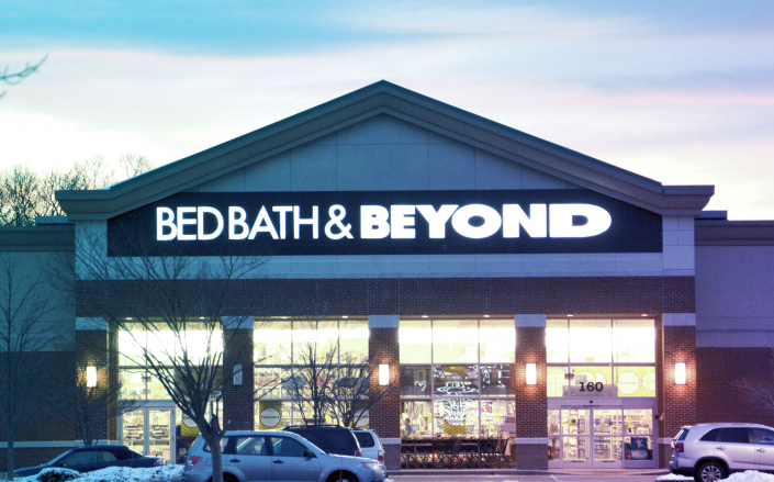 Shares of the Bed Bath & Beyond jumped to 33% due to the strong report