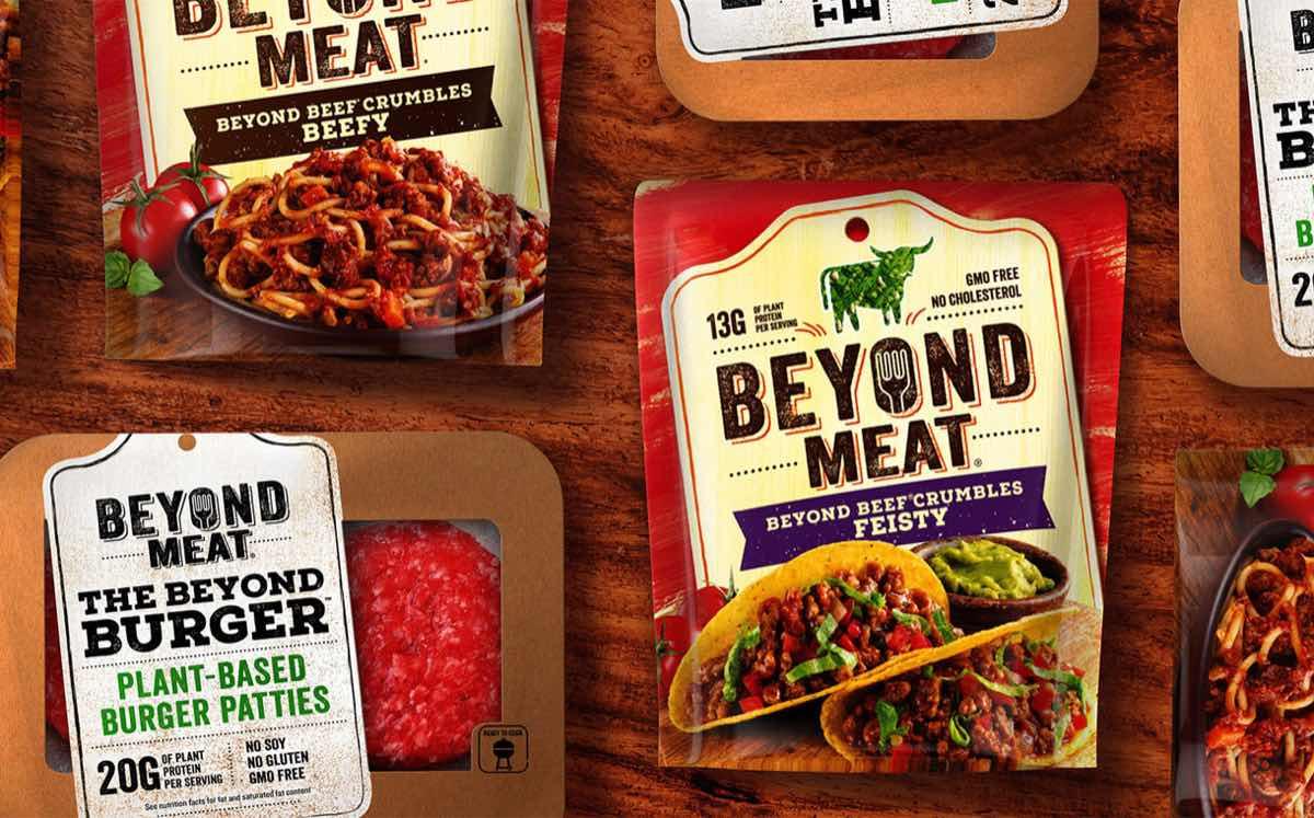 Акции Beyond Meat выросли на 9,6%