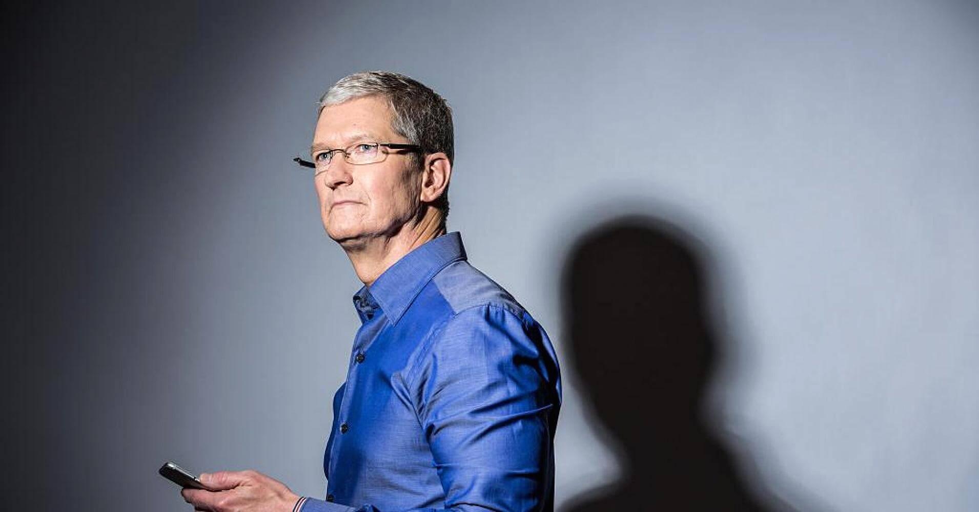 Тим Кук получит от Apple крупный пакет акций впервые с 2011 года