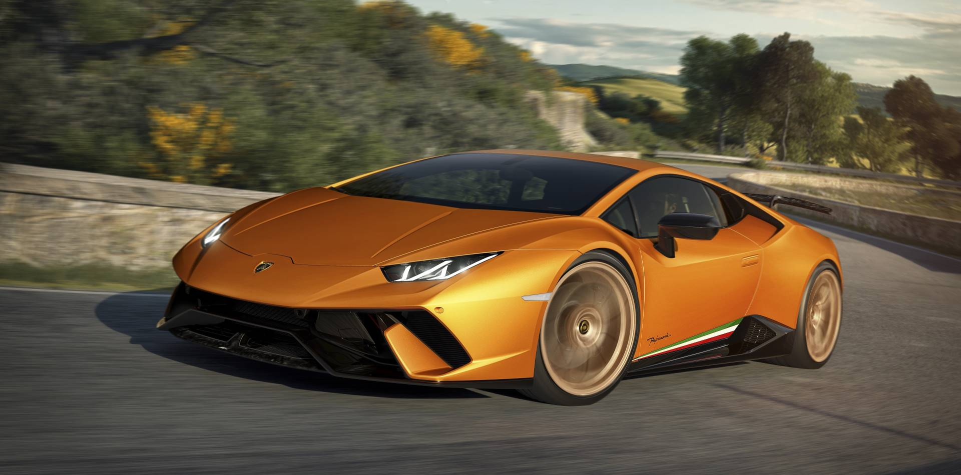 Lamborghini has set the car sales record