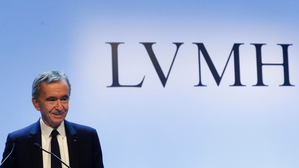 LVMH`s revenue for the nine months fell by 21%