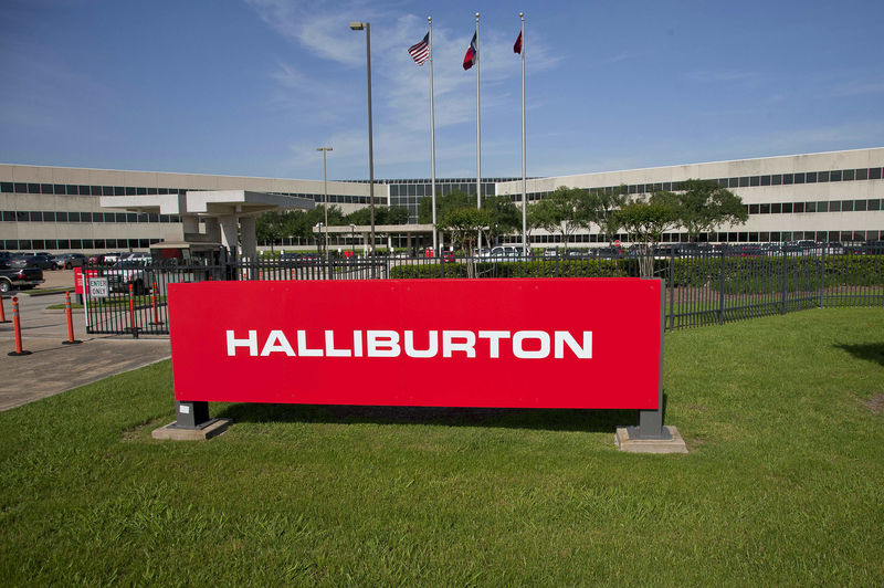 Halliburton's net loss in January-September was $ 2.7 billion