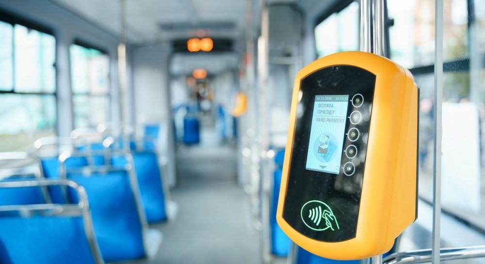 Ощадбанк и Visa запускают бесконтактную систему оплаты проезда в городском наземном транспорте Дрогобыча